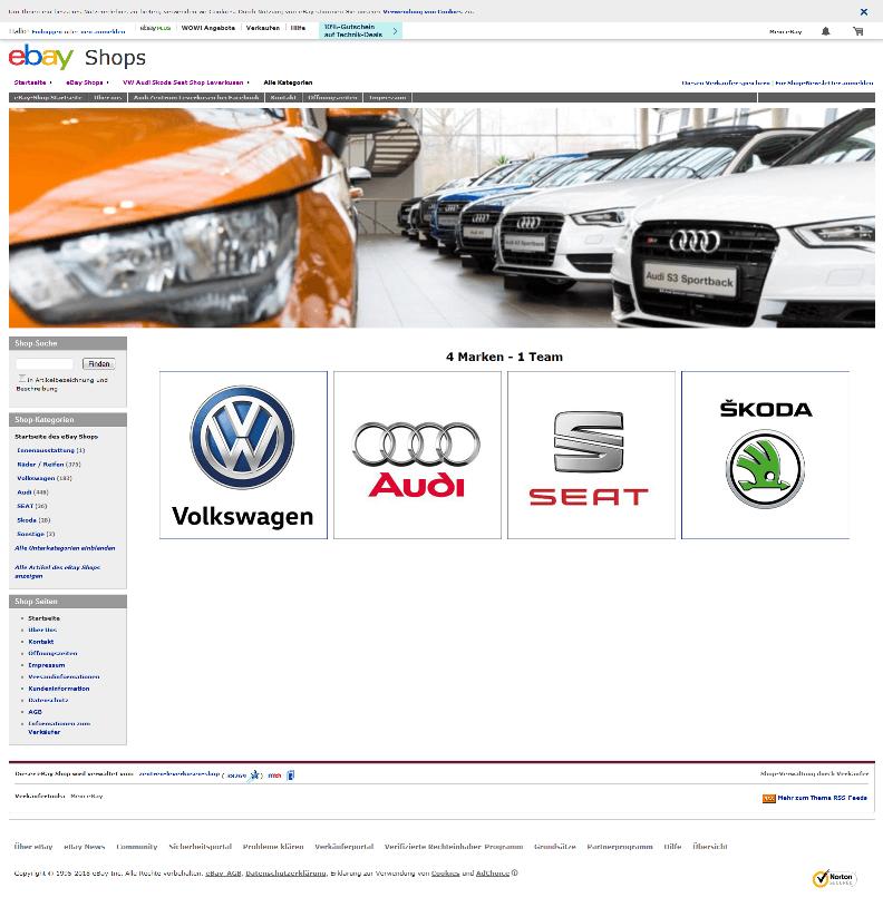 Audi Zentrum Leverkusen webshop