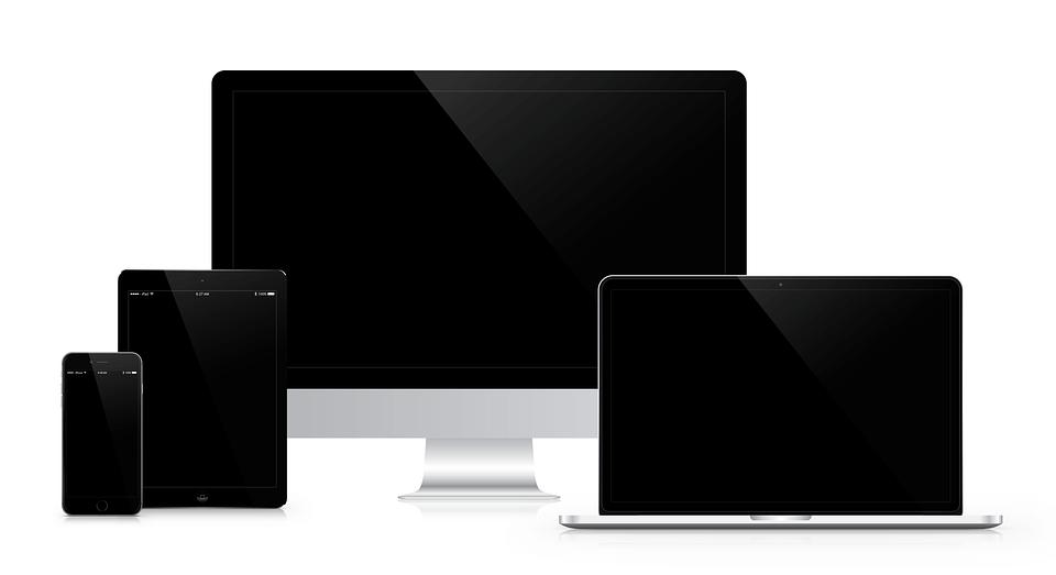 Responsive Webdesign von Content Data