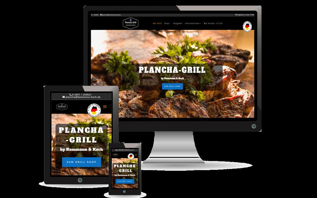 Plancha Grill by Kemmann & Koch